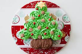 christmas 2013 christmas tree cupcake cake cath u0027s cookery