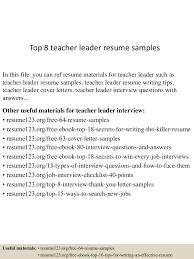 Nursery Teacher Resume Sample Sample Resumes For Teachers With Experience Fresh Graduate Resume