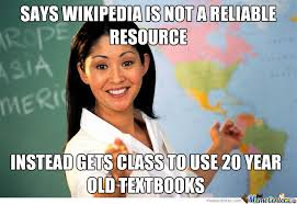 Meme Wikipedia - wikipedia and textbooks by charlottehavs meme center