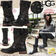 womens ugg biker boots importfan rakuten global market work winter in 1003605 ugg