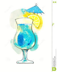 cocktail clipart cocktail clipart blue lagoon pencil and in color cocktail