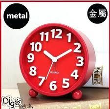 Small Desk Clock Small Bedroom Alarm Clocks Children Room Alarm Clock Creative