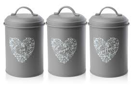 coffee kitchen canisters set of 3 vintage shabby chic tea coffee sugar kitchen storage jars