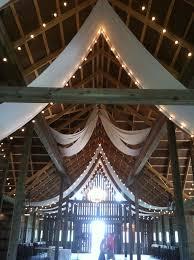 wedding venues in northwest indiana the barn at kennedy farm wedding barn drapery lizton indiana