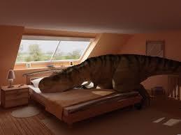 T Rex Bed Meme - rex making a bed