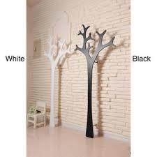 contemporary black white mila coat rack