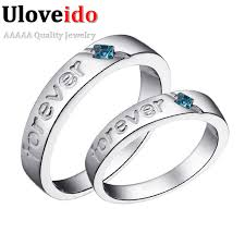 engraved promise rings images Wedding engraved couples promise finger letter vintage engagement jpg