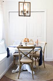 styling a breakfast nook with layers texture and warmth