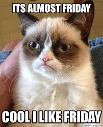 Almost Friday Meme - image jpg