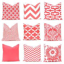 Nursery Decorative Pillows Coral Throw Pillow Covers Coral Nursery Decorative Coral Pillow