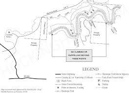 Wayne National Forest Map Hocking Hills State Forest Information