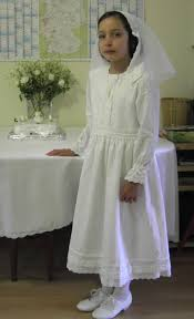 zelie u0027s roses traditional long sleeved first holy communion dresses