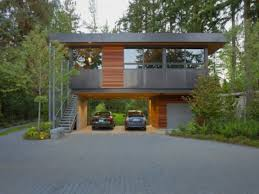 Garages With Apartments Above Simple Modern Garage With Apartment Above Photograph Of Pan