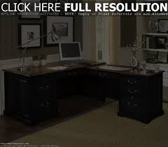 Pottery Barn Office Desk by Bush Fairview L Shaped Computer Desk With Optional Hutch Antique