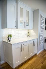 Sky Kitchen Cabinets Zodiac London Sky Quartz Countertops Brite White Subway Tile