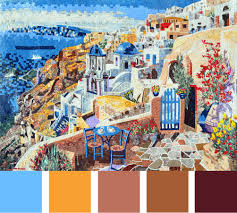 Fall Color Palette by Mosaic Wall Art Fall Color Palette Mozaico Blog