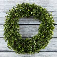 artificial boxwood wreath boxwood wreath artificial wreath for the front door