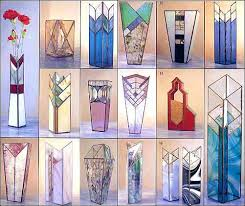 Stained Glass Vase Distinctive Vases Stained Glass Pattern Book