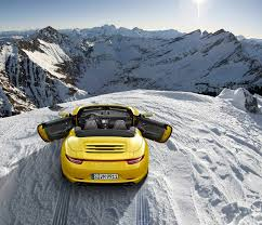 porsche 911 snow new porsche 911 carrera 4