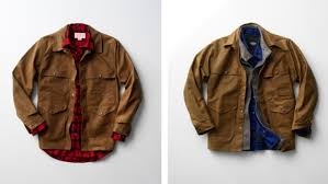 Rugged Clothing Filson U0027s Seattle Fit Helps Rugged Urbanites Wear Classic Outerwear