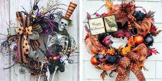 diy halloween wreath halloween decor ideas