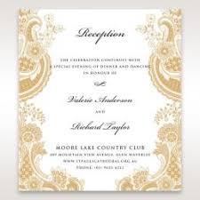wedding reception card wedding reception cards matching styles