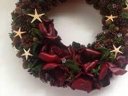 seasonal wreath christmas wreath natural wreath pinecone wreath