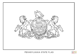 State Flag Meanings 39 Flag Color Page United States Of America Flag Coloring Page