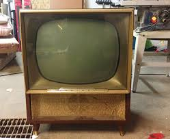 get an vintage tv working