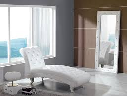 Ideas For Leather Chaise Lounge Design Contemporary White Leather Chaise Lounge Lustwithalaugh Design
