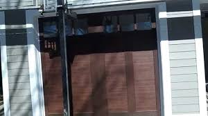 clopay wood garage doors faux wood garage doors clopay in downers grove il youtube