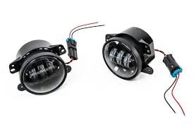 led fog light kit jw speaker 6145 jeep jk fog lights
