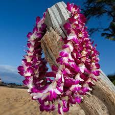 hawaiian leis wholesale purple orchid leis blooms of hawaii