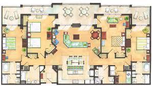 residence inn floor plans holiday inn club vacations disney world pinterest large