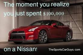 Gtr Meme - question is 100 000 too much for a nissan our ride life