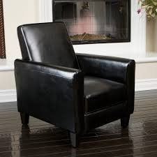 Large Chair And Ottoman Design Ideas Chairs Inspirational Design Ideas Black Leather Recliner Chair