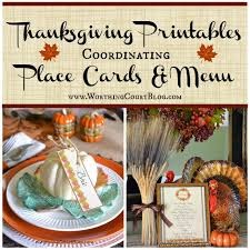Thanksgiving Dinner Menu Template Virtual Progressive Thanksgiving Dinner Party And Free
