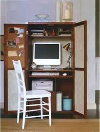 Office Depot Computer Armoire by Computer Armoire Modern Artesa Wardrobe In Quartersawn Oak