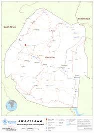 Swaziland Map Swaziland Maps