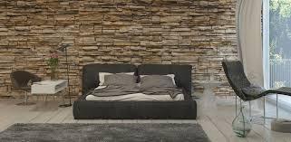 soluzioni da letto parete da letto in pietra stili e soluzioni diredonna