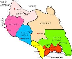 Map Of Malaysia Clipart Map Of Johor Malaysia
