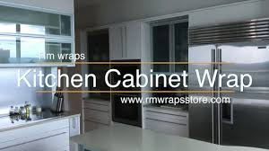 Kitchen Cabinet Wraps by Luxury Kitchen Cabinetry Wrap Rm Wraps Youtube