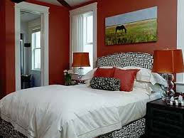 inspiring bright color schemes of decorating small bedroom with