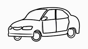 cartoon car car video cartoon illustration hand drawn animation with