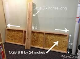 large storage shelves storage shelves a tutorial my love 2 create