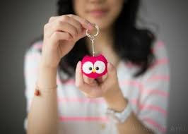 owl keychain all about ami crochet owl owl