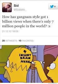 Gangnam Style Meme - gangnam style hits 1 billion views weknowmemes