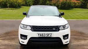 land rover sport white used land rover range rover sport 5 0 v8 s c autobiography dynamic