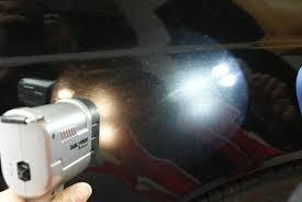 using handheld lights for paint inspection brinkmann led vs