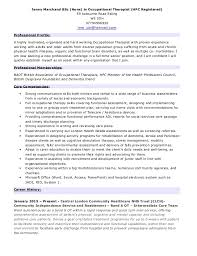 resume exles for therapist cv for therapist winkd co